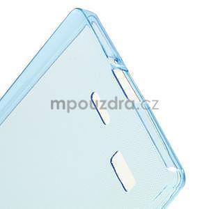 Gélový kryt na Lenovo Vibe X2 - modrý - 4