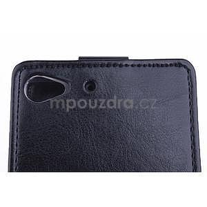 Flipové puzdro na mobil Lenovo Vibe X2 - čierné - 4