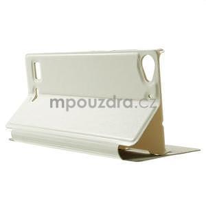 Peňaženkové puzdro Lenovo Vibe X2 - biele - 4