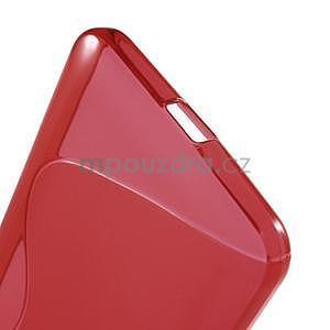 S-line gélový obal na Microsoft Lumia 640 XL - červený - 4