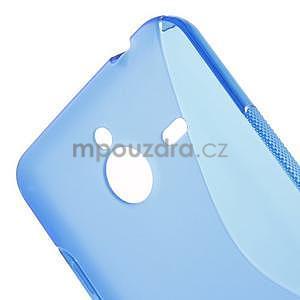 S-line gélový obal na Microsoft Lumia 640 XL - modrý - 4