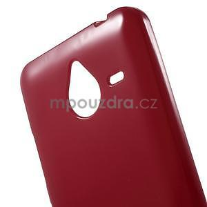 Červený gélový obal pre Microsoft Lumia 640 XL - 4