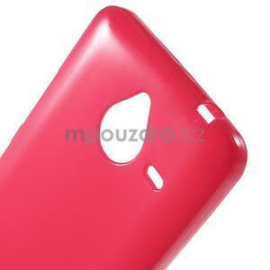 Rose gélový obal pre Microsoft Lumia 640 XL - 4