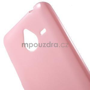 Ružový gélový obal pre Microsoft Lumia 640 XL - 4