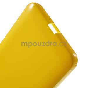 Žltý gélový obal pre Microsoft Lumia 640 XL - 4