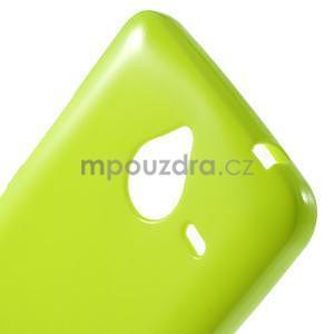 Zelený gélový obal pre Microsoft Lumia 640 XL - 4