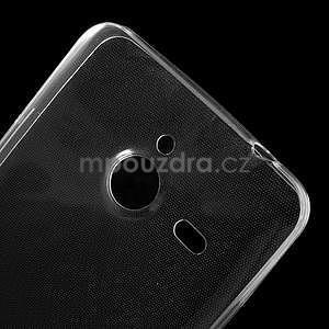 Ultra tenký slim obal na Microsoft Lumia 640 XL - transparentný - 4