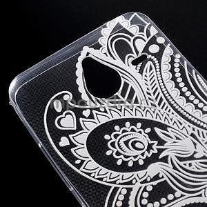 Transparentný gélový obal pre Microsoft Lumia 640 XL - henna - 4