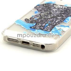 Fun gélový obal na iPhone 5s a iPhone 5 -slon - 4