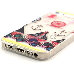 Fun gélový obal na iPhone 5s a iPhone 5 -kotva - 4