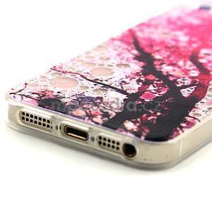 Fun gélový obal na iPhone 5s a iPhone 5 - čerešňa - 4