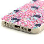 Fun gélový obal na iPhone 5s a iPhone 5 - slony - 4/4