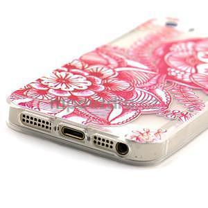 Fun gélový obal na iPhone 5s a iPhone 5 - mandala - 4