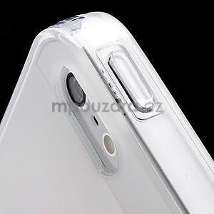 Transparentný gélový obal na iPhone 5 / 5s - 4