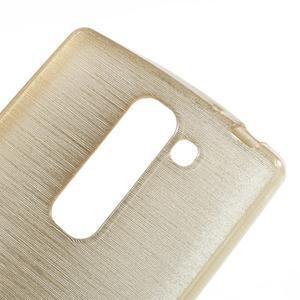 Brush gélový kryt pre LG G4c H525N - champagne - 4