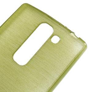 Brush gélový kryt pre LG G4c H525N - zelený - 4