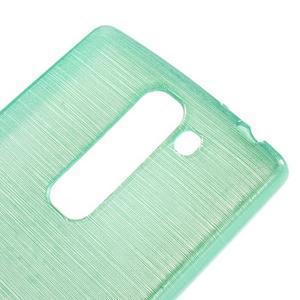 Brush gélový kryt na LG G4c H525N - cyan - 4