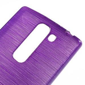 Brush gélový kryt na LG G4c H525N - fialový - 4