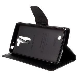 Diary PU kožené puzdro na LG G4c- čierne - 4