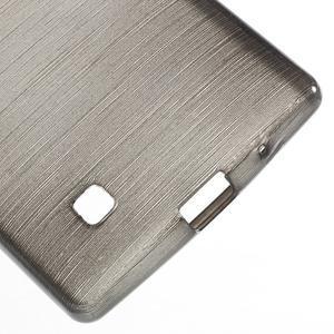 Brush gélový kryt na LG G4c H525N - šedý - 4