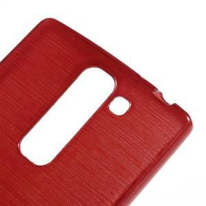 Brush gélový kryt na LG G4c H525N - červený - 4