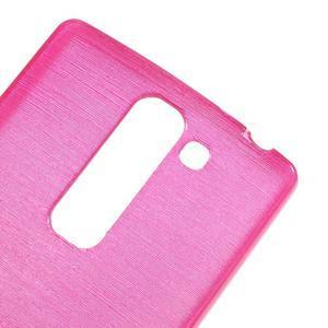 Brush gélový kryt pre LG G4c H525N - rose - 4