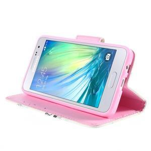 Puzdro na mobil Samsung Galaxy A3 - sova - 4
