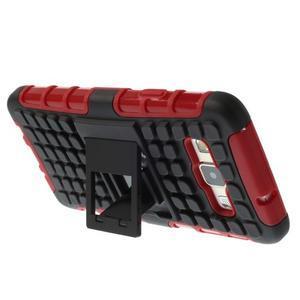 Outdoor odolný kryt na mobil Samsung Galaxy A3 - červený - 4