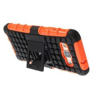 Outdoor odolný kryt pre mobil Samsung Galaxy A3    - oranžový - 4