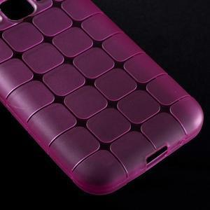 Square matný gélový obal pre Samsung Galaxy Core Prime - rose - 4