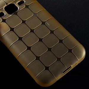 Square matný gélový obal pre Samsung Galaxy Core Prime - champagne - 4