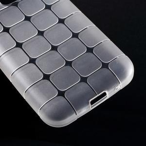 Square matný gélový obal pre Samsung Galaxy Core Prime - transparentný - 4