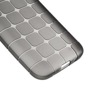 Square matný gélový obal pre Samsung Galaxy Core Prime - šedý - 4