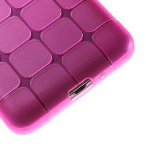 Square gélový obal na Samsung Galaxy Grand Prime - rose - 4