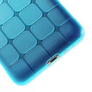 Square gélový obal pre Samsung Galaxy Grand Prime - modrý - 4