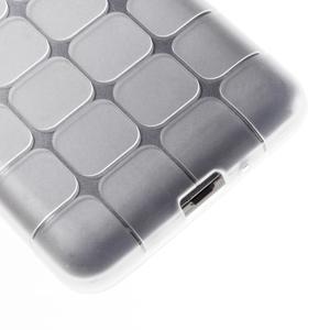 Square gélový obal na Samsung Galaxy Grand Prime biely - 4