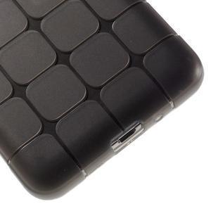 Square gélový obal na Samsung Galaxy Grand Prime šedý - 4