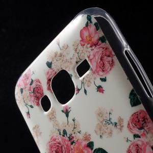 Gélové puzdro na mobil pre Samsung Galaxy J5 - kvetiny - 4