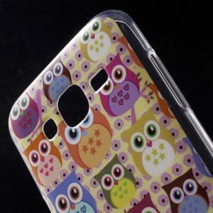 Gélové puzdro na mobil pre Samsung Galaxy J5 - sovičky - 4