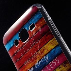 Gélové puzdro na mobil pre Samsung Galaxy J5 - farby dreva - 4