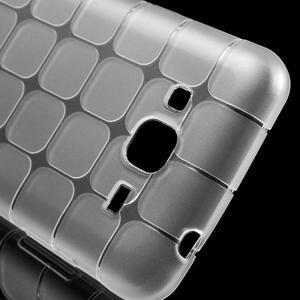 Square matný gélový obal pre Samsung Galaxy J5 - transparentný - 4