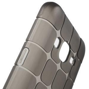 Square matný gélový obal na Samsung Galaxy J5 - šedý - 4