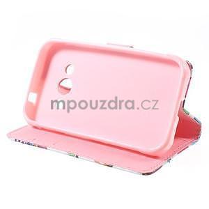 Štýlové peňaženkové puzdro pre Samsung Galaxy Xcover 3 - sovičky - 4