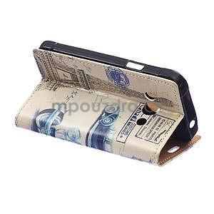 Peňaženkové púzdro pre Samsung Galaxy Xcover 3 - staré auto - 4