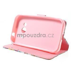 Štýlové peňaženkové puzdro pre Samsung Galaxy Xcover 3 - mandala - 4