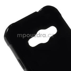 Leklý gélový kryt na Samsung Galaxy Xcover 3 - čierný - 4