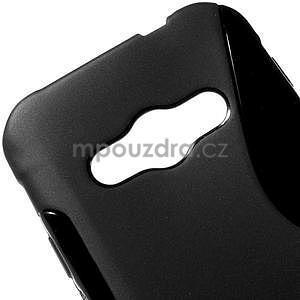 S-line gélový obal pre Samsung Galaxy Xcover 3 - čierny - 4