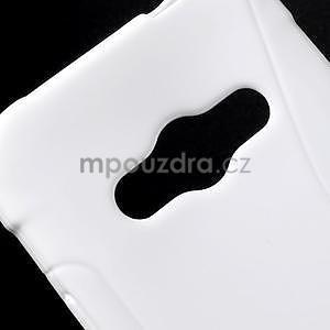 S-line gélový obal pre Samsung Galaxy Xcover 3 - biely - 4