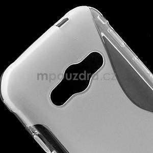 S-line gélový obal na Samsung Galaxy Xcover 3 - transparentný - 4
