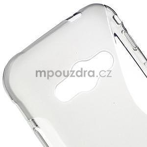 S-line gélový obal pre Samsung Galaxy Xcover 3 - šedý - 4